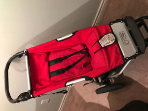 Mountain buggy with carry cot