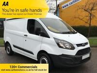 2015/15 Ford Transit Custom 270 2.2TDCi 100PS Low Mileage ECOnetic 270 L1H2