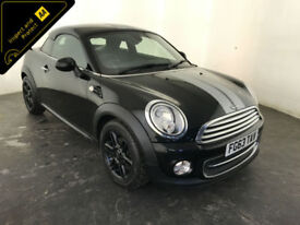 2013 63 MINI COOPER COUPE 1 OWNER SERVICE HISTORY FINANCE PX WELCOME