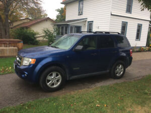 4X4 FORD ESCAPE 2008 SAFETIED & E-TESTED