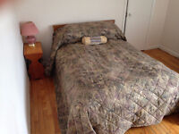 Two bedroom apartment, heat and lights incl