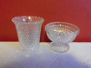 Vintage Clear Hobnail Fairy Lamp 1970's Prince George British Columbia image 2
