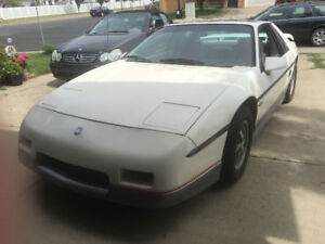 1984 Pontiac Fiero Indy Coupe *Must Sell!*