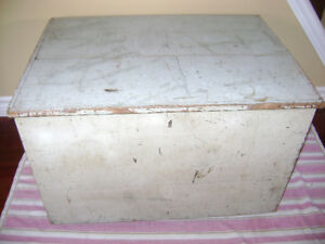 Antique painted box
