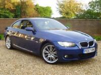 2007 57, BMW 320 2.0TD d M Sport Coupe Manual ++ 6 SPEED + LE MANS BLUE
