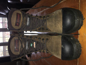 Steel Toe work boots, brand new condition.