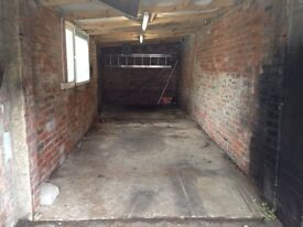 Garage for rent £50 per week. CCTV Electricity and Water