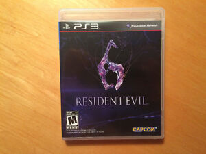 Resident evil 6 comme neuf pour PS3