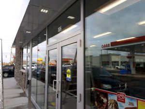 Commercial and shop window cleaning