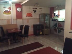 Takeaway / restaurant for sale in feltham/Hounslow with 4 bedroom flat and Indian, Italian, Chinese