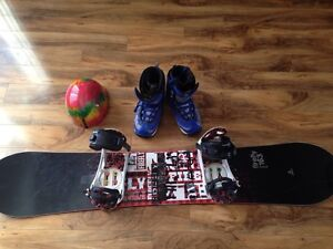 Snowboard and gear for sale Peterborough Peterborough Area image 1