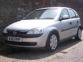 Vauxhall/Opel Corsa 1.4i 16v Automatic Elegance 2003(03) 5 Door Hatchback