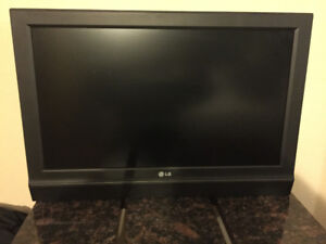 "32"" LG hd flat screen"