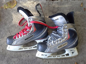 Size 6 hockey skates several pair