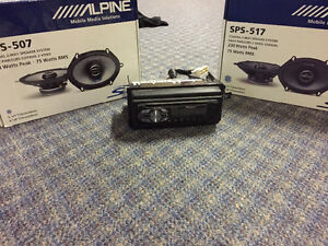 Pioneer deck and alpine speakers $100 obo