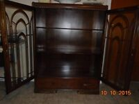 Beautiful Wooden China Cabinet All Wood Honderich