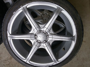 Maggs and Tire for Honda,Acura,Toyota,205-40-R17, 4x100,4x114.3