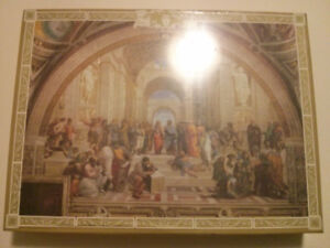 New Piece by Piece School of Athens 1000 Piece Jigsaw Puzzle