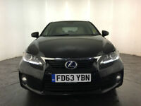 2014 LEXUS CT 200H LUXURY CVT HYBRID AUTO 1 OWNER SERVICE HISTORY FINANCE PX
