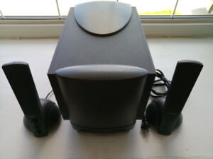 Altec Lansing ATP3 computer speakers with subwoofer