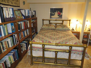 Lit antique en laiton / Brass bed Gatineau Ottawa / Gatineau Area image 1