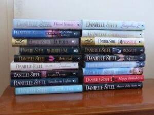Danielle Steel Hard Cover Books