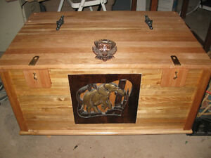 Custom Handmade Hope/Storage Chest
