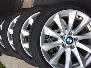 BMW 335I FACTORY OEM 18 INCH WHEELS & PERFORMANCE 225/45/18TIRES