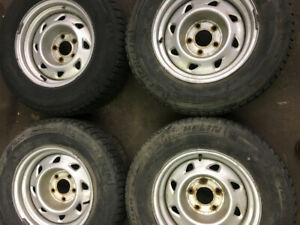Rims for Chevy/GMC S-10, Sonoma, Blazer and Jimmy With Tires