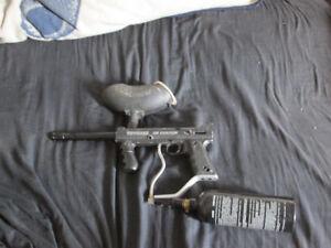 3 paintball guns