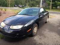 2001 Saturn SC1 runs and drives, new parts included