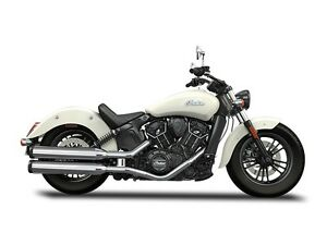 2016 Indian Scout Sixty Pearl White