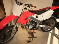 2001 cr 125 with extras