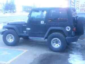 2003 Jeep TJ on 33 Inch BFGs and Hard/Soft Doors n Tops 200k