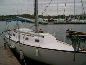 Classic cruiser, newer economical Yanmar diesel, under 100 hrs