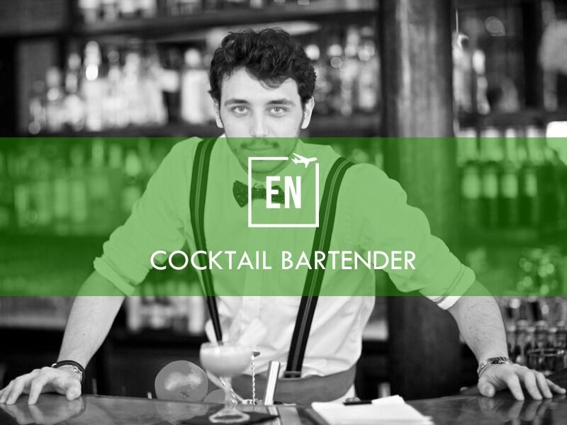 Cocktail Bartender Wanted - Immediate Start