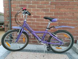 """Giant bike alloy kids aluminum frame 20"""" wheels"""