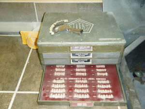 Dental tooth cabinet
