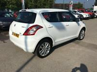 2014 Suzuki Swift 1.2 SZ3 4X4 5dr Petrol white Manual