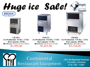 Huge Commercial Refrigeration Liquidation Sale! Awesome Warranty