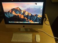 imac 21.5 i5 2.7ghz 8gb 1tb slim late 2012 excellent condition