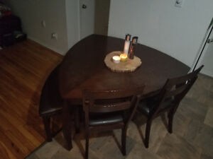 Kitchen table - perfect shape for small kitchen