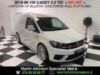 2016 66 Volkswagen Caddy 2.0TDI 'R Styling' 102PS Eu6 Custom Van