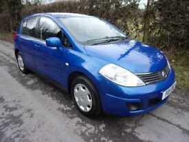 Nissan Tiida 1.6 SE(a/c) 5 Door 2011 PRESTON
