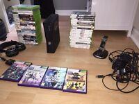 Xbox 360 Slim 250gb Huge bundle! Great Deal!