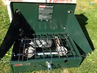 Coleman Duel Fuel camping stove cooker