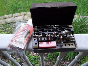 -------OVER 40 ROUTER BITS AND 40 HAND FILES------------------