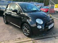 2013 Fiat 500 1.2 S 3dr LOW MILEAGE CHEAP ABARTH LOOKS HATCHBACK Petrol Manual