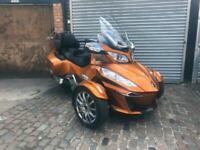 Can-Am SPYDER RT LTD 1330 Semi-Auto Cognac 2014