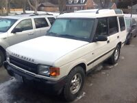 Land Rover discovery se7 diesel